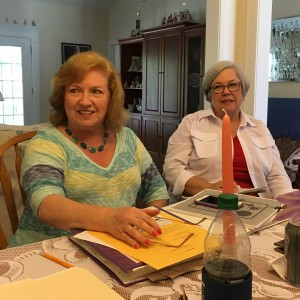 Linda K and Jackie B